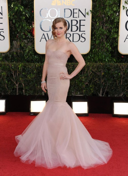 Amy Adams en Marchesa (AP)