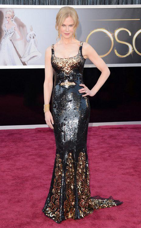 Nicole Kidman en L'Wren Scott. (E! Online)
