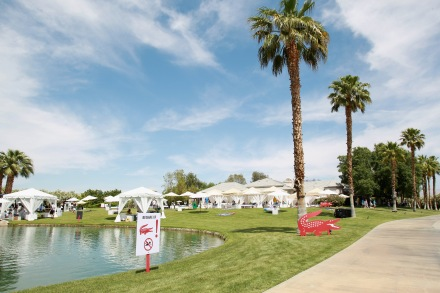 LACOSTE L!VE Desert Pool Party In Celebration Of Coachella - Day 1