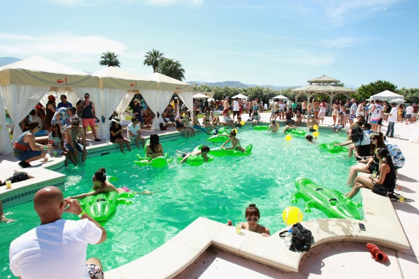 LACOSTE L!VE Desert Pool Party In Celebration Of Coachella - Day 1